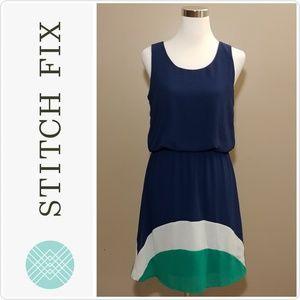 NWT Pixley Florence Colorblock Dress